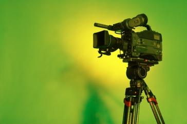 green-video-camera