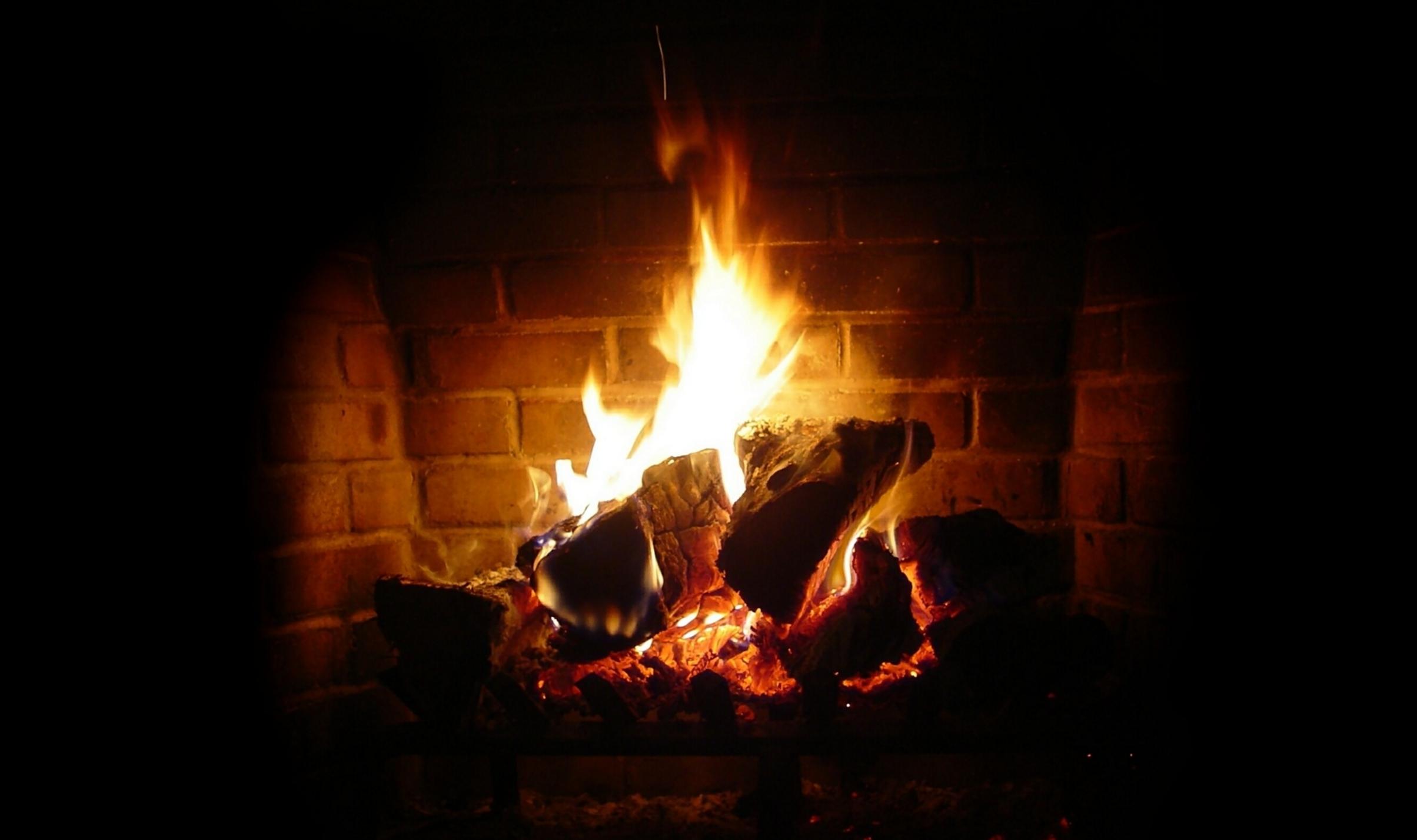 Log Fire Andy Dunn