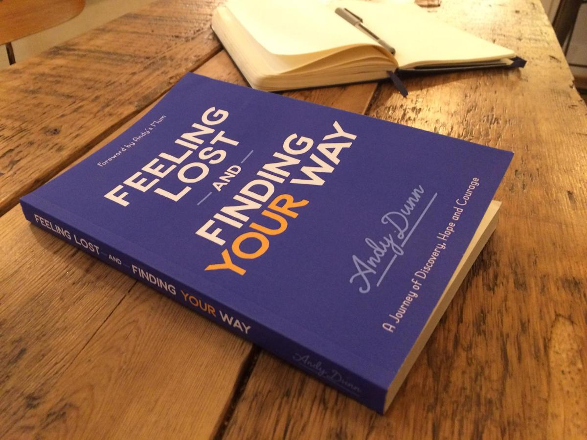 My book is out - Feeling Lost and Finding Your Way
